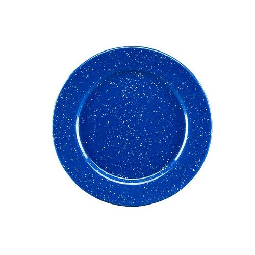 Juego De Platos Ensalada De Peltre Con Ala 6 Piezas Azul
