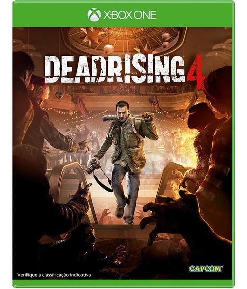 Jogo Dead Rising 4 - Xbox One Mídia Física Lacrado
