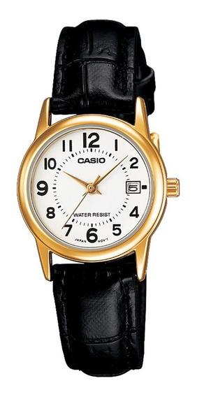 Relógio Analógico Feminino Casio Ltp-v002gl-7budf