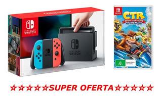 Nintendo Switch 32gb Con 1 Juego Nuevo Tienda Gamers *_*