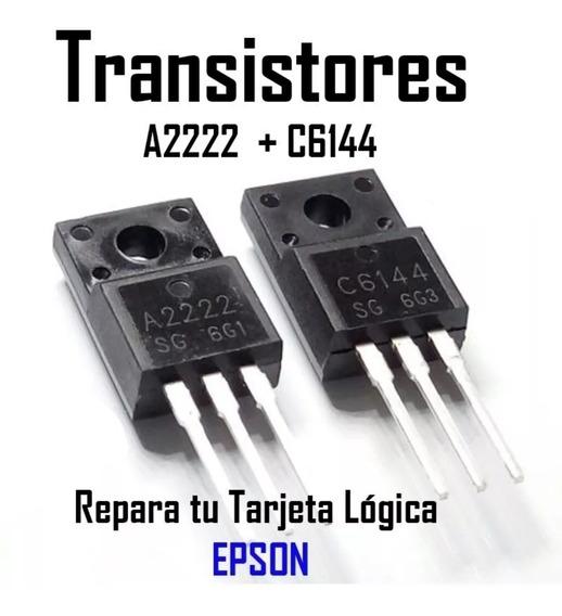 Transistores A2222 C6144 Para Epson Y Más.* El Par*