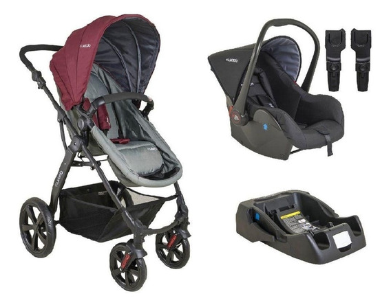 Carrinho De Bebê Galaxy 5230 Kiddo + Bb Conforto E Base