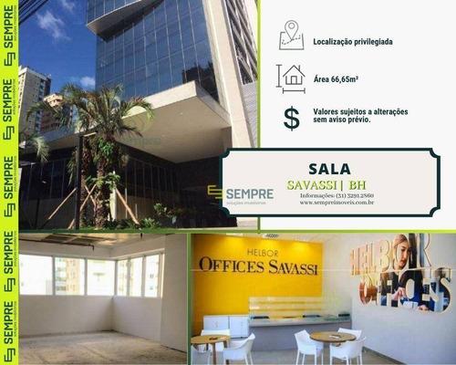 Imagem 1 de 30 de Salas À Venda, 66 M² - Savassi - Belo Horizonte/mg - Sa0122