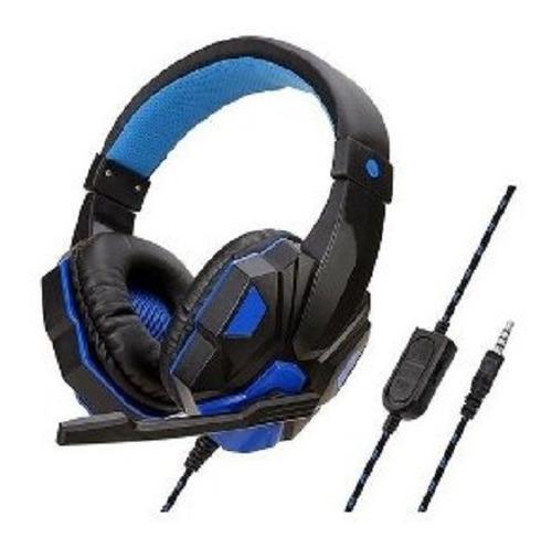 Imagen 1 de 1 de Auriculares Gamer Con Microfono Ps4 Pc Play 4  1 X 3.5mm
