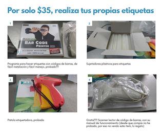 Kit Etiquetador De Ropa, Textiles, Cojines, Calzado.....