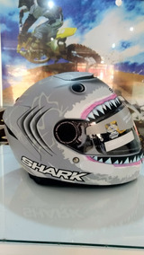 Capacete Shark Spartan Fosco - Lorenzo - Promoção