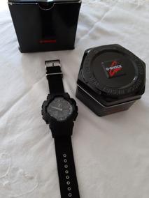 Relógio Casio G-shock Ga-100bbn-original-pulseira Em Cordura