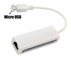 Adaptador Placa Rede Rj45 Lan Ethernet Micro Usb