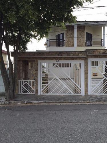 Sobrado Residencial À Venda, Jardim Textil, São Paulo - So0690. - So0690