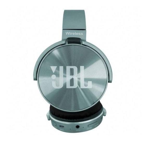 Fone De Ouvido Bluetooth Verde S/f Cartão Sd Rádio