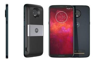 Moto Z3 Play Powerpack Dtv, 6 64gb, Câmera 12mp+5mp, Indigo