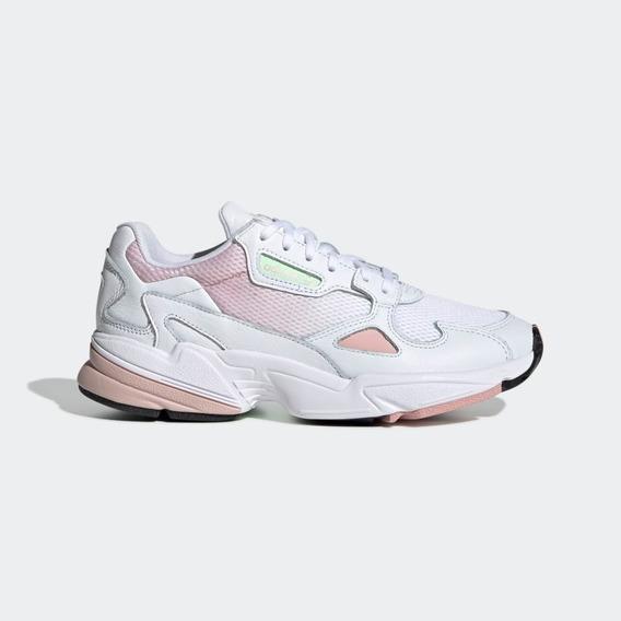 Tênis adidas Falcon W Feminino Rosa Original Pronta Entrega