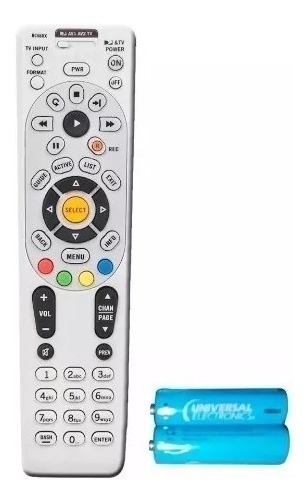 Control Remoto Directv Tv Rc66rx Original No Incluye Bateria