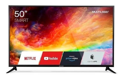 Smart Tv Multilaser Led 50 Tl019 Ultra Hd 4k 3 Hdmi 2 Usb