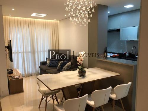 Imagem 1 de 15 de Apartamento Para Venda Em São Caetano Do Sul, Osvaldo Cruz, 2 Dormitórios, 1 Suíte, 2 Banheiros, 2 Vagas - Riopro