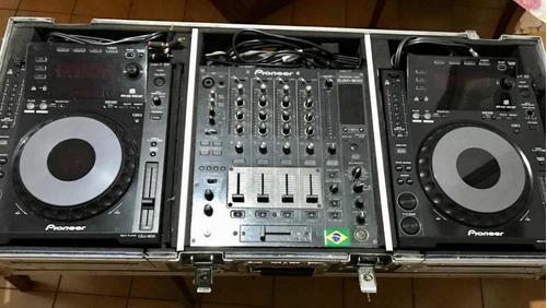 Par De Cdj 900 + Mixer Djm 800 Pioneer
