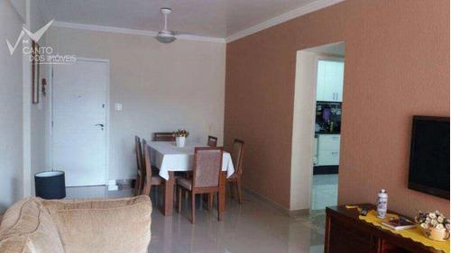 Imagem 1 de 24 de Apartamento Com 2 Dorms, Canto Do Forte, Praia Grande - R$ 330 Mil, Cod: 478 - V478