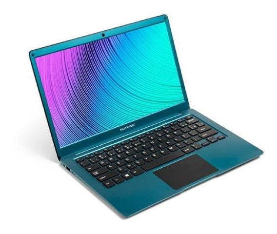 Notebook Multilaser Legacy Air 4gb 64gb 13.3 Azul Pc224