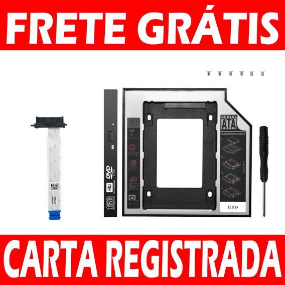 Cabo Odd Sata Dvd Dell 3576 3567 5558 5566 + Adaptador Caddy