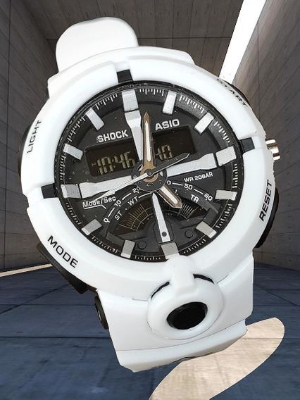 Relógio Digital Barato Caixa Alta Aprova D Água!!