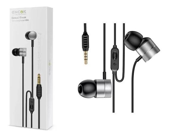 Fone De Ouvido Esportivo Baseus Com Fio Encokh04 Wire iPhone