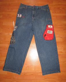 Jeans Bronx Ny Con Guantes De Box En Relieve 3d Boxeo