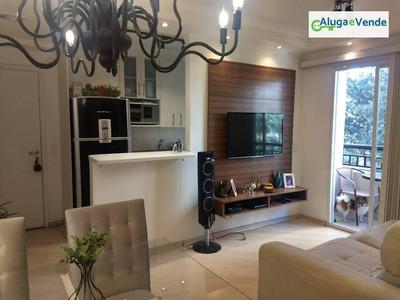 Apartamento Com 2 Dormitórios À Venda, No Condomínio Vero 50 M² Por R$ 285.000 - Vila Augusta - Guarulhos/sp - Ap0101