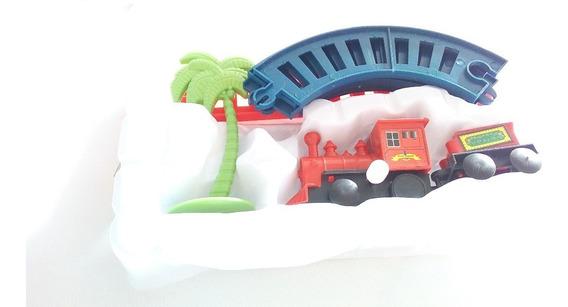Atacado Kit 5 Trenzinho Mini Ferrorama Na Corda Brinquedo