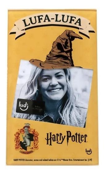 Porta Retrato Cartão Harry Potter Lufa-lufa - Ludi