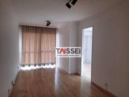 Imagem 1 de 23 de Apartamento Com 1 Dormitório Para Alugar, 50 M² Por R$ 2.600,00/mês - Moema - São Paulo/sp - Ap8582