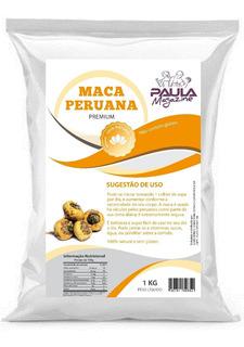Maca Peruana Pura Em Pó (levanta Pó) 1kg Maca Peruana 1000 Mg 180 Pouch Massa Muscular Granel