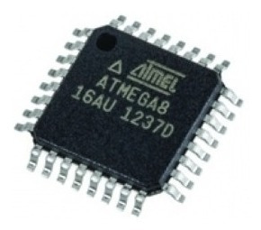 Microcontrolador Atmega8 Smd