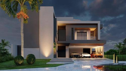 Casa Com 5 Dormitórios À Venda, 420 M² Por R$ 2.700.000,00 - Urbanova - São José Dos Campos/sp - Ca0115
