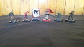Lote X6 Heroclox Spiderman Figuras Los Germanes