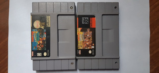 Donkey Kong Country 2 Y 3 Lote Super Nintendo