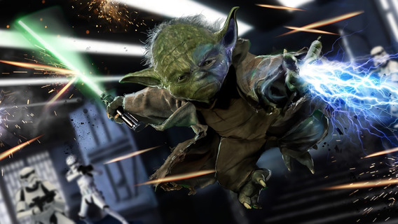 Cuadros Luminosos Led 80x40 Star Wars Envió Gratis