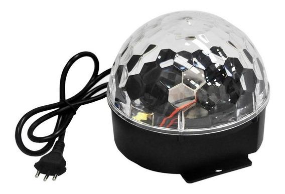 Globo Pls Thunder Ball Bi Volt 6 Leds De 1 Watt Rgb Ofertão