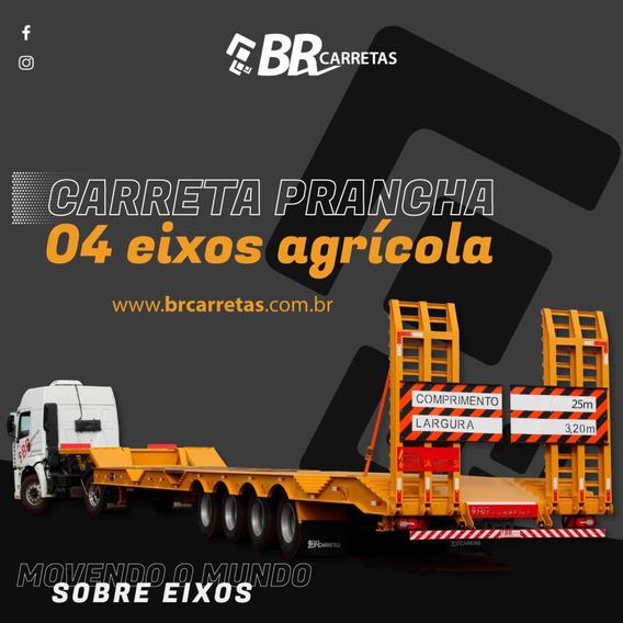 Carreta Prancha 4 Eixos - Br Carretas