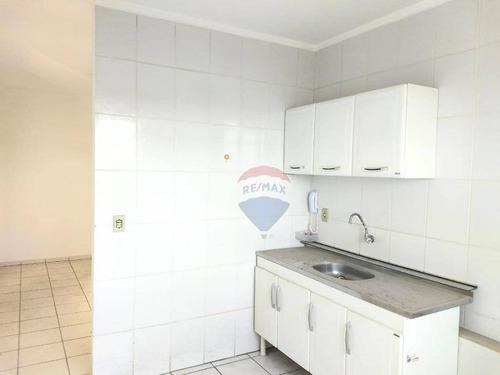 Apartamento Com 2 Dormitórios Para Alugar, 50 M² Por R$ 600,00/mês - Jardim Bela Vista - Americana/sp - Ap0268