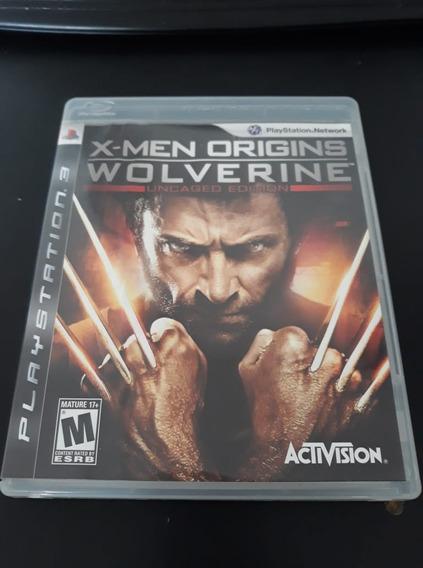 X-men Origins Wolverine Ps3 Midia Fisica Semi