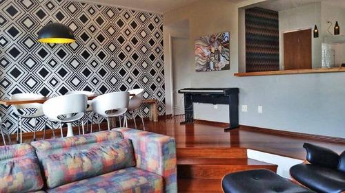 Imagem 1 de 20 de Apartamento À Venda, 130 M² Por R$ 798.000,00 - Campestre - Santo André/sp - Ap12405