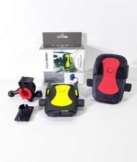 Soporte Holder De Moto Universal Para Celular Gira 360°