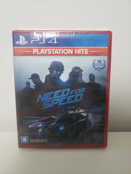 Jogo Playstation 4 - Need For Speed 2015 - Lacrado - Hits