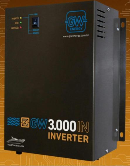 Inversor 3000w 12v Gw - 110v Ou 220v
