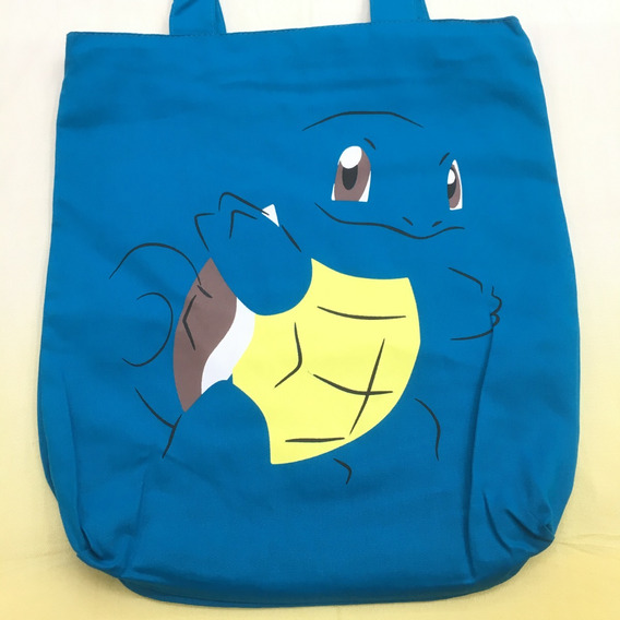 Bolsa Tecido Pokemon Squirtle