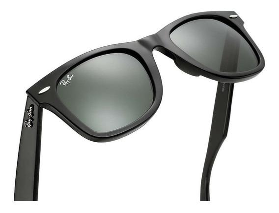 Óculos Ray-ban Rb2140 Wayfarer Original Masculino Envio 5h