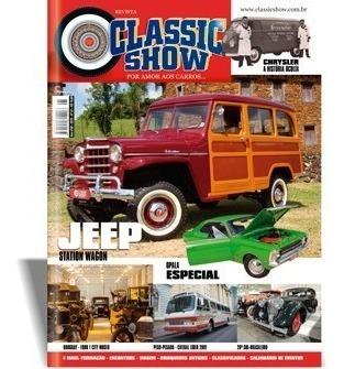 Revista Classic Show Ed. 95, Jeep, Opala, Ônibus
