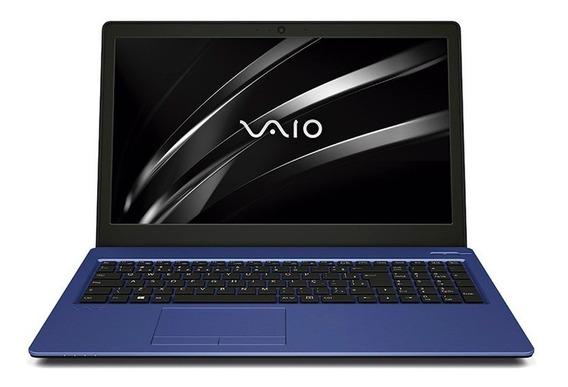 Vaio® Fit 15s Core I7 8ª Geração Windows 10 Home - Azul