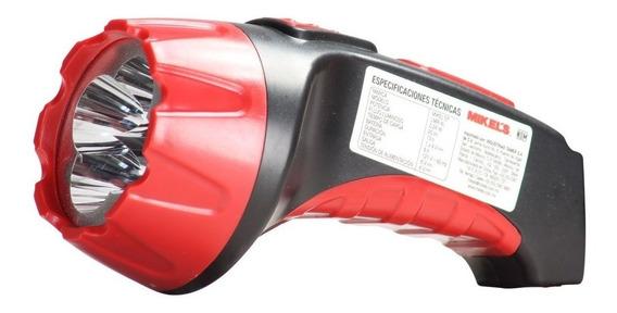Lampara Manual Recargable Mikels 4 Focos Led Con Clavija
