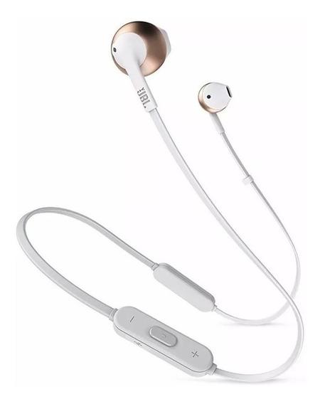 Fone De Ouvido Jbl Tune T205 Bt Preto Bluetooth C/ Microfone